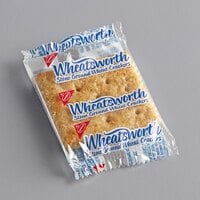 Nabisco Wheatsworth 2 Count (0.22 oz.) Stone Ground Wheat Crackers - 500/Case