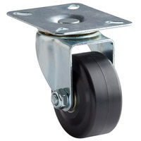 Avantco 17814451 3 inch Swivel Plate Caster for PT, UC, WT, UBB, and UDD Series