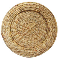 The Jay Companies 1660158 13 inch Round Rattan Charger Plate