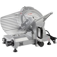 Backyard Pro SL110E Butcher Series 10 inch Manual Gravity Feed Meat Slicer - 120V