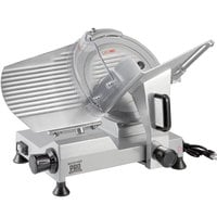 Backyard Pro SL112E Butcher Series 12 inch Manual Gravity Feed Meat Slicer - 120V