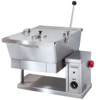 Cleveland SET-10 10 Gallon Electric Countertop Tilt Skillet - 240V, 1 Phase