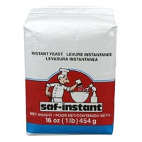 Lesaffre SAF-Instant Red 1 lb. Vacuum Packed Dry Yeast