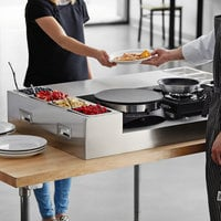 Carnival King Deluxe Butane Made-To-Order Crepe Station