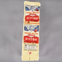 Pearl Valley Cheese Swiss Cheese 8 lb. Solid Block - 6/Case
