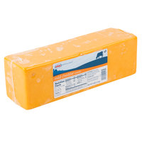 AMPI 5 lb. Yellow Mild Cheddar Cheese - 2/Case