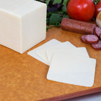 AMPI 5 lb. White Mild Cheddar Cheese - 2/Case