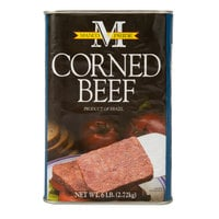 6 lb. Imported Canned Corned Beef - 6/Case