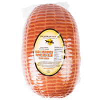 Lancaster County Farms 11 lb. Old Fashioned Boneless Hickory Smoked Cooked Ham - 3/Case