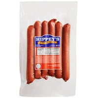 Hippey's 1 lb. Hot Pepper Cheese and Meat Sticks - 12/Case