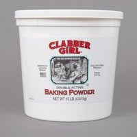 Clabber Girl 10 lb. Double-Acting Baking Powder - 4/Case