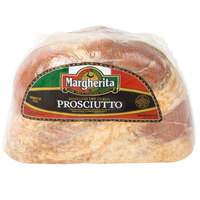 Margherita 4.5 lb. Boneless Dry Cured Prosciutto - 2/Case