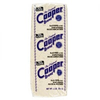 Cooper® Cheese Black Pepper Flavored Sharp White American Cheese 5 lb. Solid Block   - 2/Case