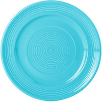 Tuxton CIA-090 Concentrix 9 inch Island Blue China Plate - 24/Case