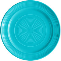 Tuxton CIA-120 Concentrix 12 inch Island Blue China Plate - 6/Case