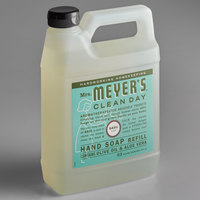 Mrs. Meyer's Clean Day 651349 33 oz. Basil Scented Hand Soap Refill - 6/Case