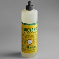 Mrs. Meyer's Clean Day 651376 16 oz. Honeysuckle Scented Dish Soap - 6/Case