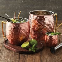 American Metalcraft CM96H 96 oz. Jumbo Hammered Copper Moscow Mule Mug
