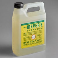 Mrs. Meyer's Clean Day 666708 33 oz. Honeysuckle Scented Hand Soap Refill - 6/Case