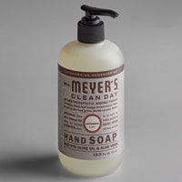 Mrs. Meyer's Clean Day 651311 12.5 oz. Lavender Scented Hand Soap with Pump - 6/Case
