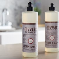 Mrs. Meyer's Clean Day 650391 16 oz. Lavender Scented Dish Soap - 6/Case