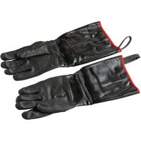 Black 17 inch Heat Resistant Neoprene Gloves