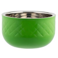 Bon Chef Diamond Collection Cold Wave 1.7 Qt. Lime Green Triple Wall Bowl