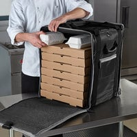 Vollrath VTB300 3-Series Insulated Tower Bag, 18 inch x 17 inch x 22 inch - Holds (10) 16 inch Pizza Boxes