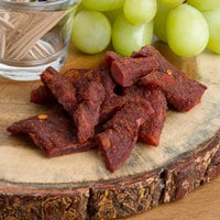 Uncle Mike's 1.6 oz. Pack Spicy Hot Beef Jerky - 32/Case