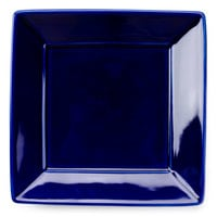 Tuxton BCH-0845 8 1/2 inch Cobalt Blue Square China Plate - 12/Case