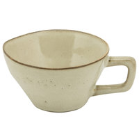 10 Strawberry Street FRZ-9C-BG Firenza 5 oz. Beige Porcelain Cup with Handle - 24/Case