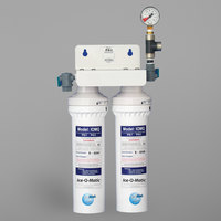 Ice-O-Matic IFQ2 Double Ice Machine Water Filter - 0.5 Micron and 3 GPM