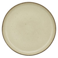 10 Strawberry Street FRZ-5CP-BG Firenza 5 3/4 inch Beige Porcelain Coupe Bread and Butter Plate - 24/Case