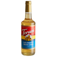 Torani 750 mL Late Harvest White Grape Flavoring Syrup