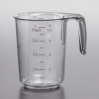 Choice 1 Cup Allergen Free Plastic Measuring Cup