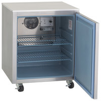 Delfield 407-CAP 27 inch Undercounter Freezer with 3 inch Casters