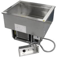 Delfield N8681P Six Pan Drop-In Cold / Hot Food Well