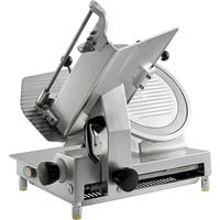 Avantco SL713MAN 13 inch Medium-Duty Manual Gravity Feed Meat Slicer - 1/2 hp