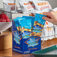 Blue Diamond 0.1 lb Pouch Roasted & Salted Almonds - 144/Case