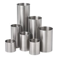 Barfly M37097 Stainless Steel 7-Piece Thimble Measure Set