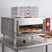Avantco DPO-18-S Single Deck Countertop Pizza Oven - 1700W, 120V
