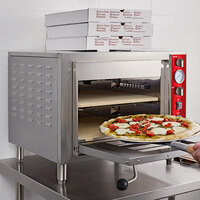 Avantco DPO-18-DS Double Deck Countertop Pizza Oven - 3200W, 240V