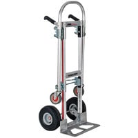 Magliner GMK16UA4 Gemini Jr. 2-in-1 500 lb. Convertible Hand Truck with 10 inch Pneumatic Wheels and Dual Handles