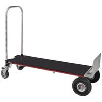 Magliner XLSP Gemini XL 2-in-1 500 lb. Convertible Hand Truck with 10 inch Pneumatic Wheels and U-Loop Handle