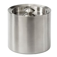 Brushed Collection Stainless Steel 3 Qt. Ice Bucket with Lid