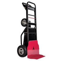 Magliner MHT75BA 1000 lb. Motorized Hand Truck with 13 inch Foam Filled Wheels and Base Plate - 36V, 800W