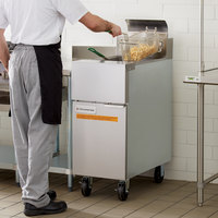 Frymaster GF14 Natural Gas Floor Fryer 40 lb.