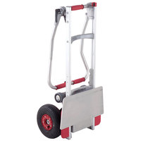 Magliner CLK110FNG4 240 lb. Powered Stair Climbing Hand Truck with 10 inch Pneumatic Wheels and Folding Handle