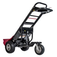 Magliner MHT75BD 3500 lb. Motorized Hand Truck with 13 inch Foam Filled Wheels and Trailer Hitch - 36V, 800W