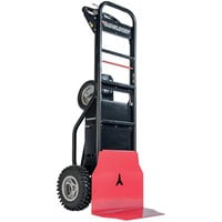 Magliner MHT75CA 1000 lb. Motorized Hand Truck with 13 inch Aggressive Tread Pneumatic Wheels and Base Plate - 36V, 800W